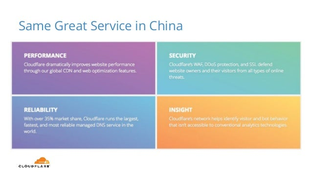 Same Great Service in China