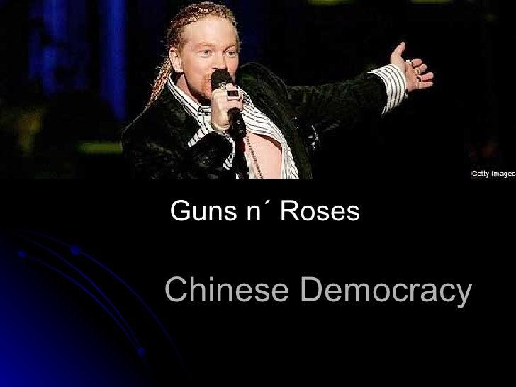 Chinese Democracy Guns n´ Roses