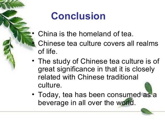 Tea culture in china essay