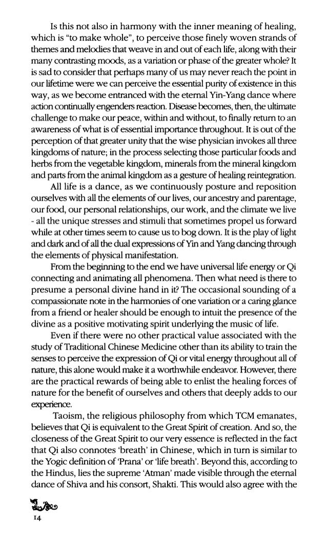 the various cycles ofYin-Yang transformation. What is most impressive about the study ofthe 1-Ching is the insight that Yi...