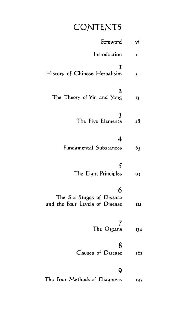 IO Patterns of Disharmony II Differentia[ Diagnosis 244 I2 Eight Methods of Herbal Treatment 306 IJ Whole Nutrition 314 14...