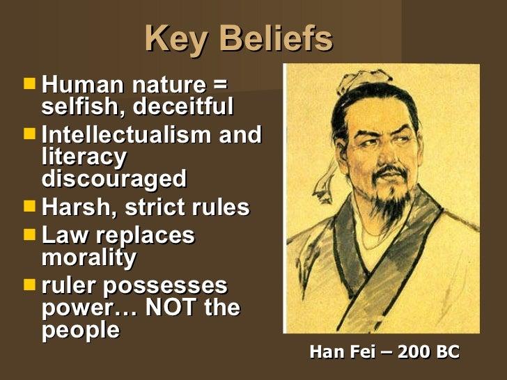 Han Fei On Human Nature