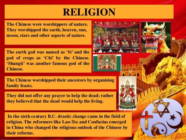the importance of religion to the different dynasties in china The other important expression of chinese religious consciousness before the han dynasty was shamanism, which most commonly took the form of deities and spirits possessing receptive human beings.
