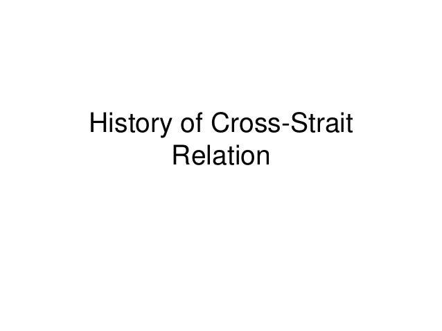 History of Cross-Strait Relation