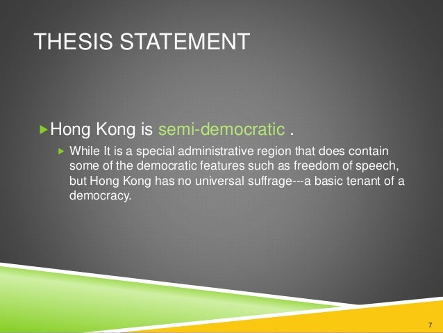 thesis statement on direct democracy Which one of the following problems may result from a may result from a direct democracy information a thesis statement the source of.