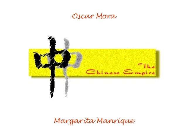 Oscar Mora Margarita Manrique
