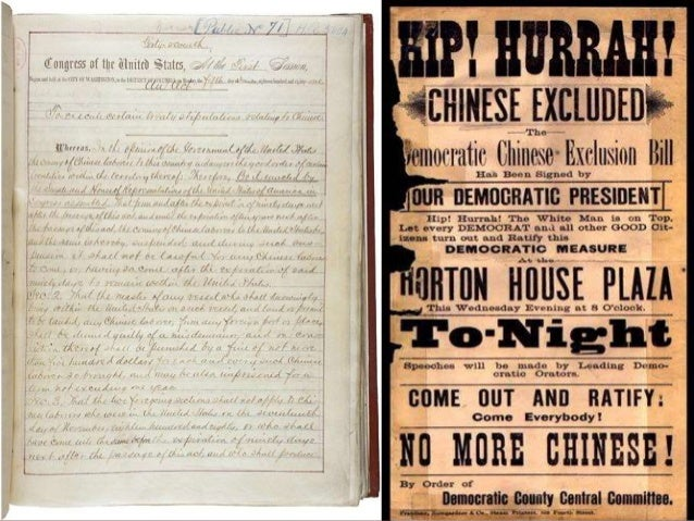 chinese exclusion act 1882 essay Need essay sample on why did americans pass the 1882 chinese exclusion act we will write a cheap essay sample on why did americans pass the 1882 chinese.