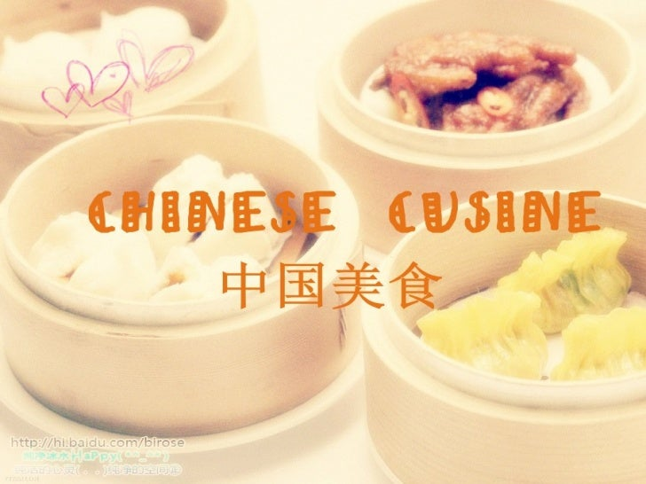 Chinese food Slide 1