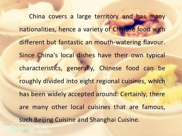 Chinese food Slide 2