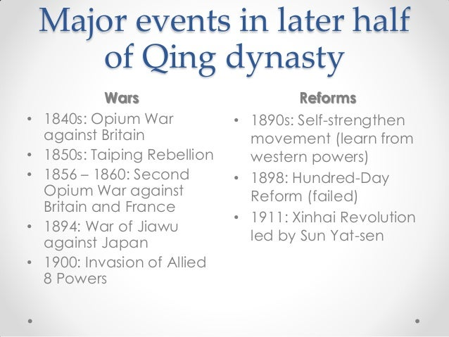 important event in chinese history Timeline for china 1700 - 2008 dates marked by are ones you should know precisely.