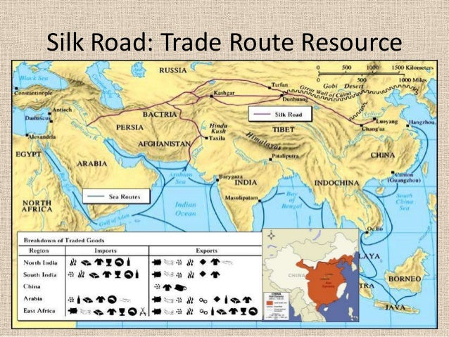 Silk road essay