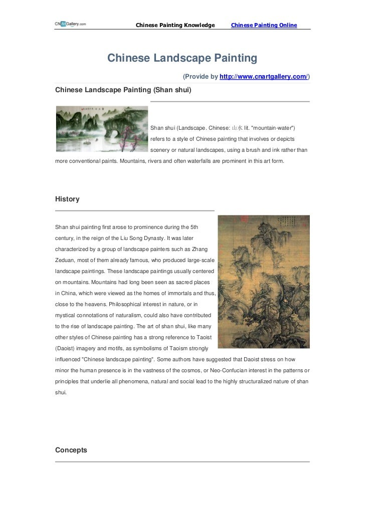 Chinese Painting Knowledge              Chinese Painting Online                      Chinese Landscape Painting           ...