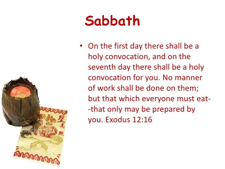 taboos 24 sabbathon the first day