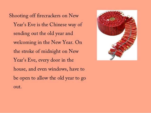 22 shooting off firecrackers on new years - Chinese New Year Customs
