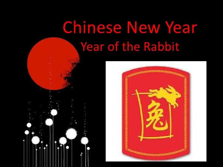Chinese New Year<br />Year of the Rabbit<br />