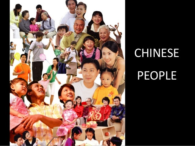 CHINESE PEOPLE