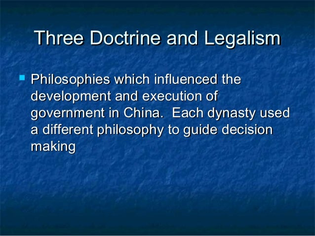 philosophies confucianism and legalism qin dynasty The ruler of the qin dynasty, shihuangdi, founded which political philosophy a legalism b confucianism c.