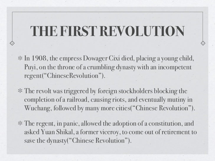 chinese revolution 1949 causes
