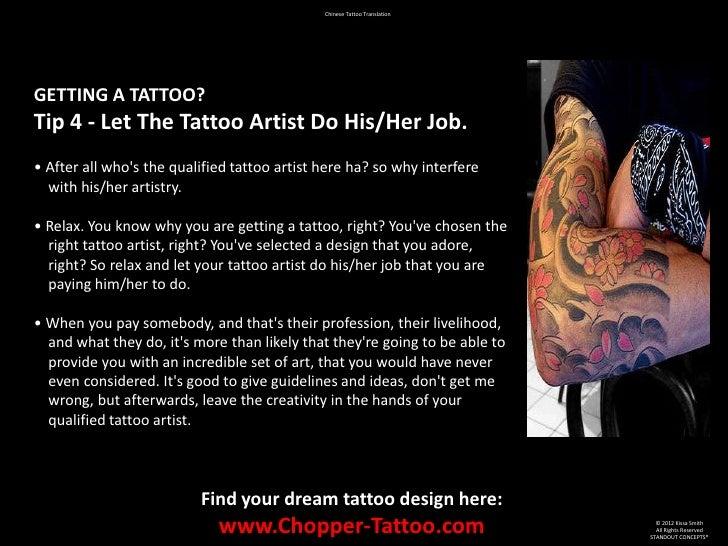 Chinese Tattoo Translation