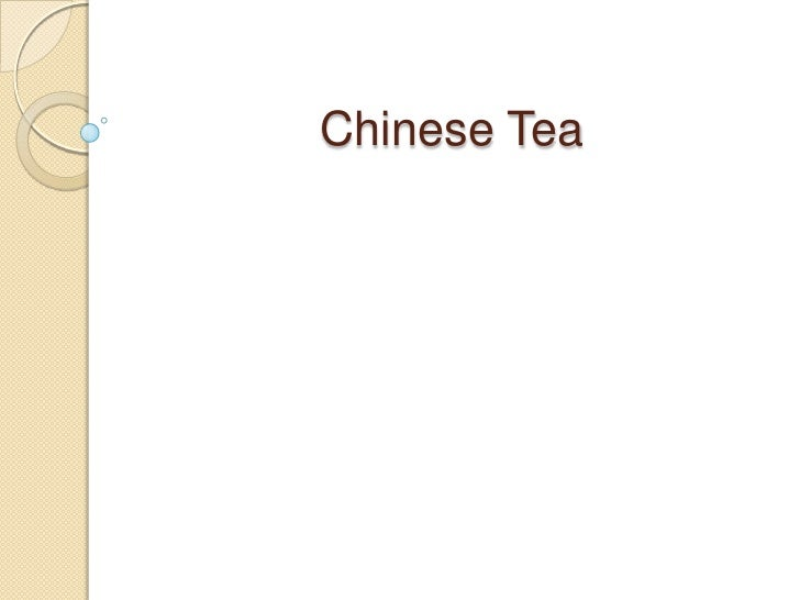 Chinese Tea<br />