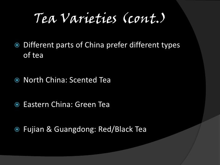 Chinese Tea Culture Ppt