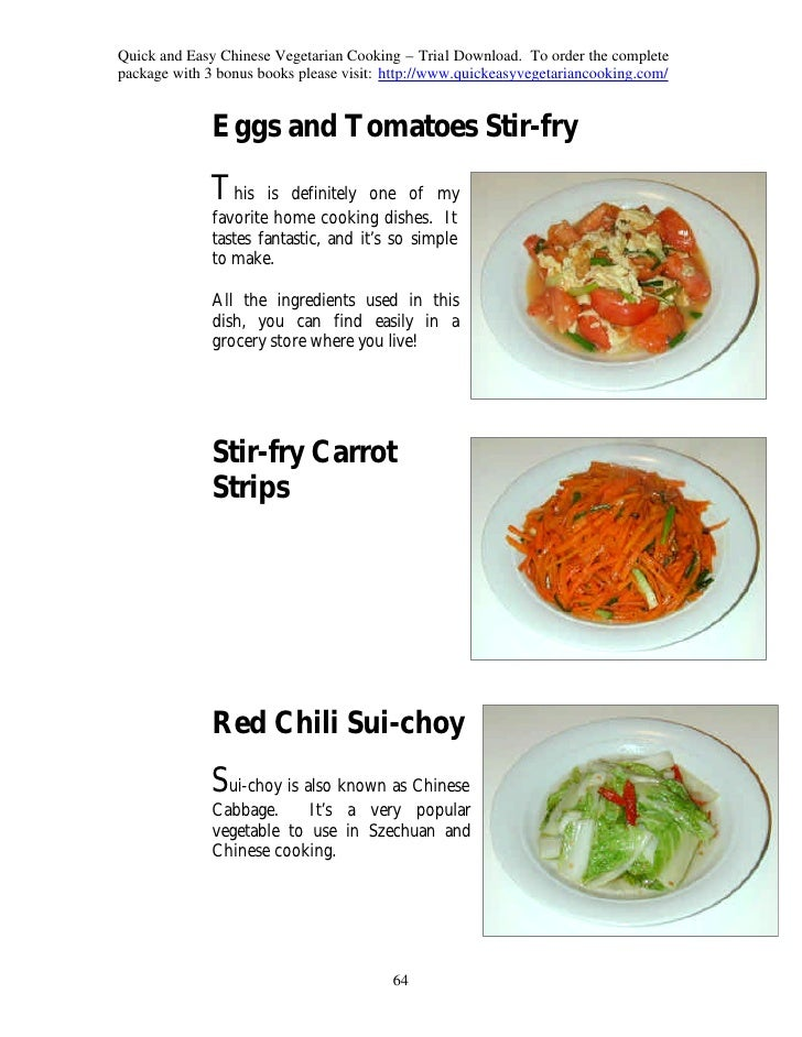 Chinese vegetarian cooking recipes quick and easy chinese forumfinder Choice Image