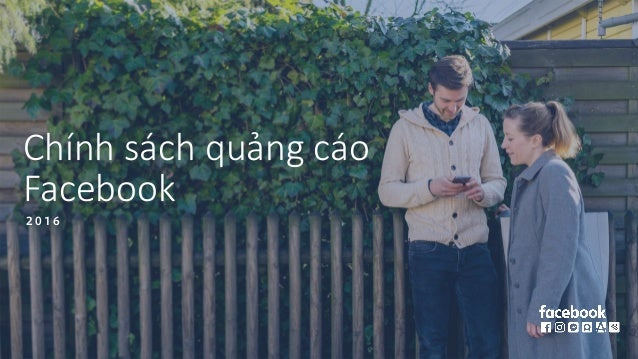 Chính sách quảng cáo Facebook 2 0 1 6