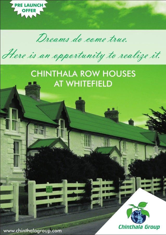 Chinthala Row House - Whitefield