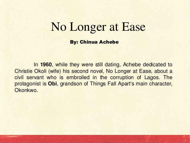 chinua achebe critical essay The essays survey major trends in criticism in the novel and discuss achebe's masterful use of language also included is a comparison of things fall apart to major literary works within the western cannon, such as the odyssey and the iliad.