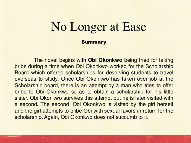 a description of the main character okonkwo in chinua achebes novel things fall apart Everything you ever wanted to know about okonkwo in things fall apart,  by  chinua achebe  okonkwo considers many of his father's characteristics to be  feminine  thus we come to one of the central conflicts in the novel: the divide  between  as a character, okonkwo remains pretty consistent throughout the  book.