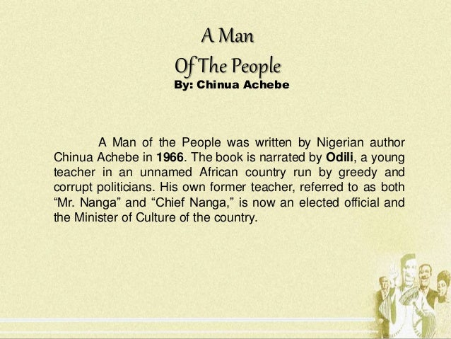 the description of nigerian peoples struggles in chinua achebes things fall apart