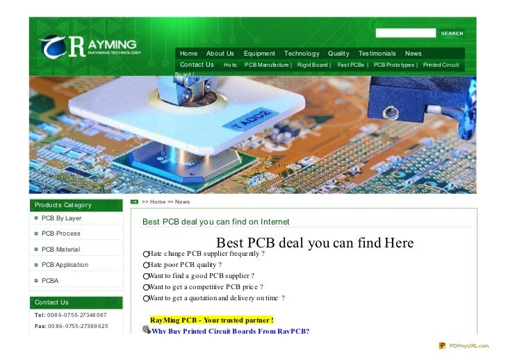 Home      About Us      Equipment     Technology       Quality    Testimonials      News                                  ...