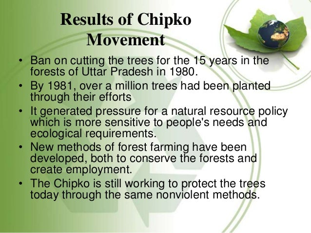 chipko movement in india Chipko movement andolan information, objectives, benefits, history, essay,  speech, paragraph india today nature has always provided the human.