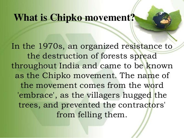 Image result for CHIPKO MOVEMENT