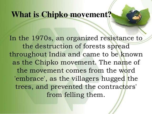 chipko movement quotes