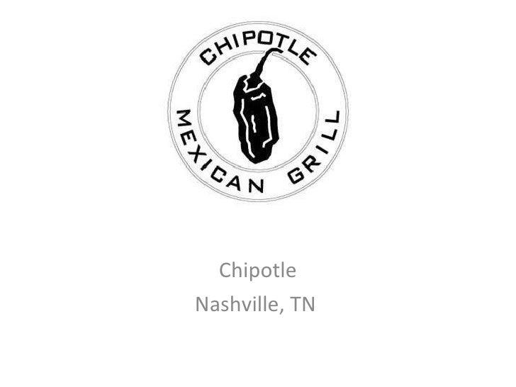 Chipotle Nashville, TN