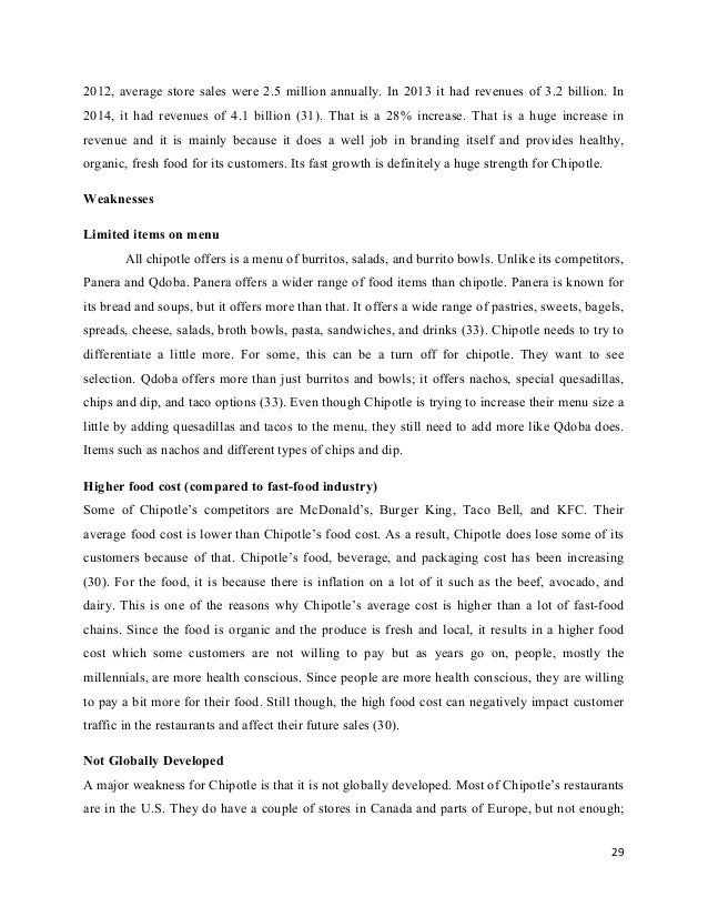 Industry Analysis Paper Organic Food Canada