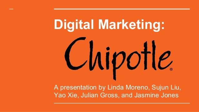 chipotle digital marketing presentation