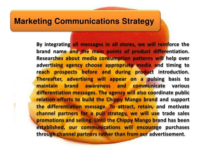 red mango marketing strategy Yogurt: a case study in target marketing & product differentiation frozen yogurt shops, such as red mango, try to create a calm and light atmosphere, appealing to teenagers or families with a few extra dollars to spend.