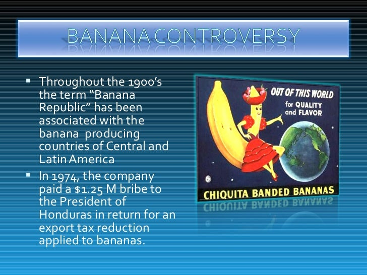 Blood Bananas: Chiquita in Colombia Case Solution And ...