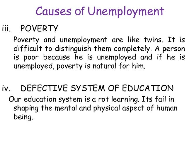 causes and reasons of unemployment in nigeria There are a number of types of unemployment, defined in terms of cause and severity economics online news comment analysis theory  the main reasons are.