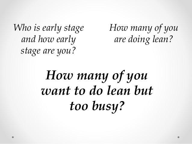 Layman's Guide to Lean Methodology Slide 2