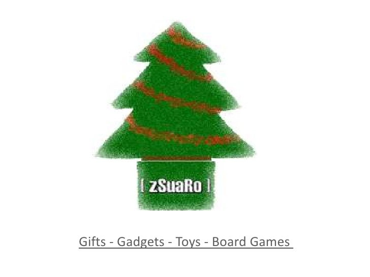Gifts - Gadgets - Toys - BoardGames<br />