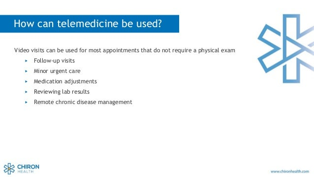 Telemedicine Best Practices Webinar