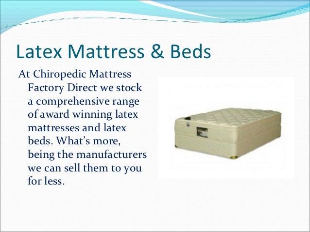 Chiropedic Mattress