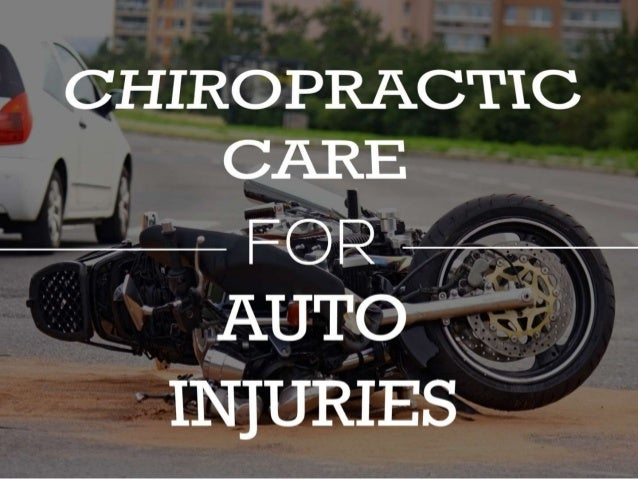Chiropractors are trained in human biomechanics Can identify minor injuries other doctors may miss