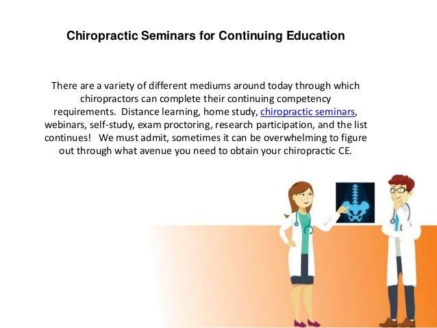 Chiropractic CE Slide 2