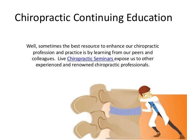 Chiropractic CE Slide 3