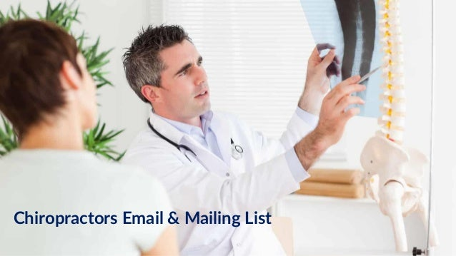Chiropractors Email & Mailing List