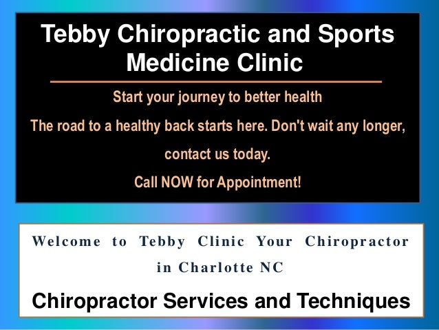 south charlotte chiropractic clinic charlotte chiropractic nc